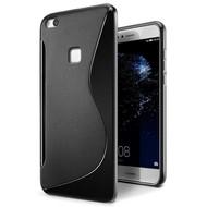 Zwart S-Style TPU Siliconen Hoesje voor Huawei P10 Lite