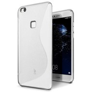 Transparant S-Style TPU Siliconen Hoesje voor Huawei P10 Lite