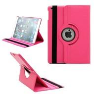 Roze 360° Draaibare Case Tablet Beschermhoes voor Apple iPad 9.7 (2018)