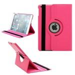 Apple iPad Mini 3 - Hoes 360° Draaibare Case Lederlook Roze