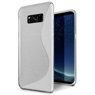 S-Style Transparant Siliconen TPU Hoesje voor Samsung Galaxy S8 Plus