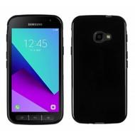 Zwart TPU Siliconen Case Hoesje voor Samsung Galaxy Xcover 4