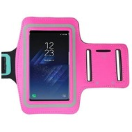 Samsung Galaxy S8 Plus Roze Sport Armband hoesje