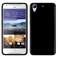HTC Desire 650 Hoesje Tpu Siliconen Smartphone Case Zwart