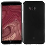 Zwart TPU Siliconen Case Hoesje voor HTC U11