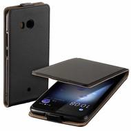 Eco Flipcase Cover Zwart Hoesje voor HTC U11