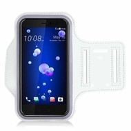 Wit Sportarmband Hardloopband voor de HTC U11