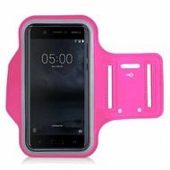Roze Sportarmband Hardloopband voor Nokia 5