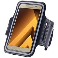 Zwart Sportarmband Hoesje Hardloopband Samsung Galaxy A5 2017