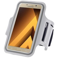 Wit Sportarmband Hoesje Hardloopband Samsung Galaxy A5 2017