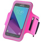 Hardloopband Sportarmband Roze Hoesje Samsung Galaxy J7 2016