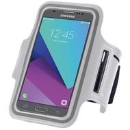 Hardloopband Sportarmband Wit Hoesje Samsung Galaxy J7 2016