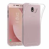 Transparant TPU Siliconen Hoesje voor Samsung Galaxy J7 Pro