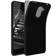 Zwart TPU Siliconen Case Hoesje voor Huawei Y7