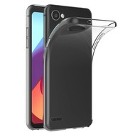 Transparant TPU Siliconen Case Hoesje voor LG Q6