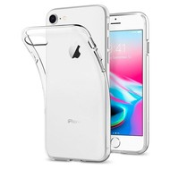 Transparant Pvc Siliconen iPhone 8 Backcover Hoesje