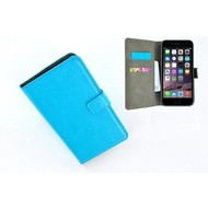 Turquoise Premium Wallet Bookcase Hoesje voor iPhone 8 Plus