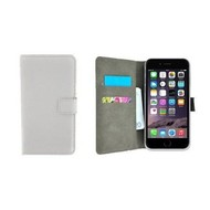 Wit Premium Wallet Bookcase Hoesje voor iPhone 8 Plus