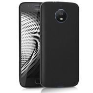 Zwart TPU Siliconen Hoesje voor Motorola Moto G5S