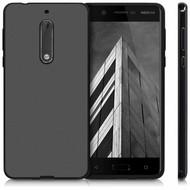Zwart TPU Siliconen Backcover Hoesje voor Nokia 5
