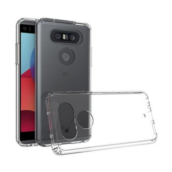 Transparant TPU Siliconen Backcover Hoesje voor LG Q8