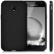 Zwart Tpu Siliconen Case Hoesje Samsung Galaxy J3 2017