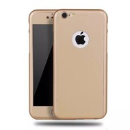 360 graden Full Body Cover Case Goud Hoesje voor iPhone 6/6S