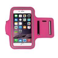 Roze Sportarmband Hardloopband iPhone 8 Plus