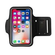 Zwart Sportarmband Hardloopband iPhone X