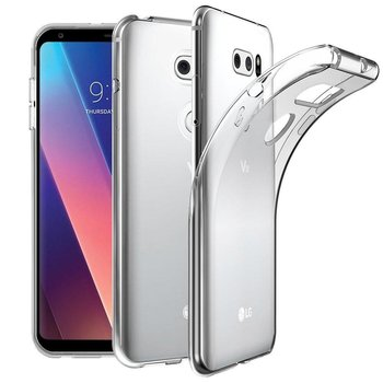 Transparant TPU Siliconen Case Hoesje voor LG V30