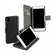 Zwart Y Wallet Bookcase Sony Xperia XA1 Plus