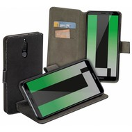 Zwart Y Wallet Bookcase Huawei Mate 10 Lite