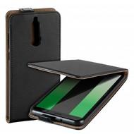 Zwart eco flipcase cover voor Huawei Mate 10 Lite