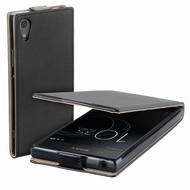 Zwart eco flipcase cover voor Sony Xperia XA1 Plus