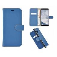 Pearlycase® Echt Leer Bookcase Samsung Galaxy S8 Plus - Blauw