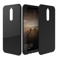 Zwart TPU Hoesje voor Huawei Mate 10 Lite