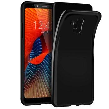 Zwart TPU Siliconen Case Hoesje voor Samsung Galaxy A8 Plus 2018