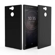Zwart TPU Hoesje voor Sony Xperia XA2