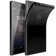 Zwart TPU Hoesje voor Sony Xperia XA2 Ultra