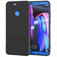 Zwart TPU Hoesje voor Huawei Honor 9 Lite