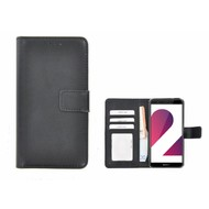 Zwart Fashion Wallet Bookcase voor Huawei P smart