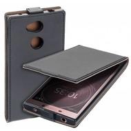 Zwart eco flipcase cover voor Sony Xperia L2