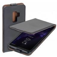 Eco Flipcase Cover Zwart Hoesje voor Samsung Galaxy S9 Plus
