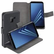 Zwart Y Wallet Bookcase voor Samsung Galaxy A8 2018