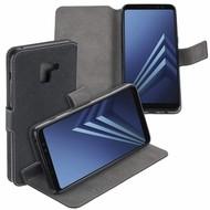 Zwart Y Wallet Bookcase voor Samsung Galaxy A8 Plus 2018