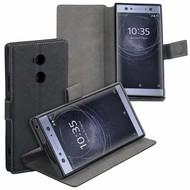 Zwart Y Wallet Bookcase voor Sony Xperia XA2 Ultra