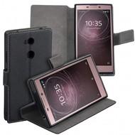 Zwart Y Wallet Bookcase voor Sony Xperia L2
