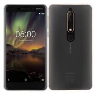 Transparant Ultra Slim TPU Case Hoesje voor Nokia 6 (2018)