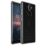 Transparant Ultra Slim TPU Case Hoesje voor Nokia 8 Sirocco
