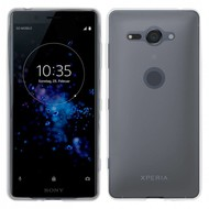 Transparant Ultra Slim TPU Case Hoesje voor Sony Xperia XZ2 Compact
